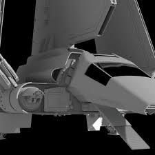 Imperial shuttle model 2