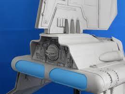 Imperial shuttle model 3