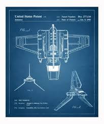 Imperial shuttle tekening 1