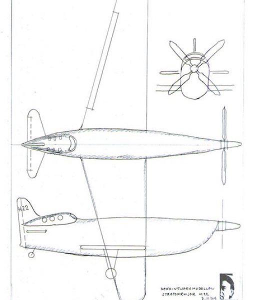stratokruiser:tekening